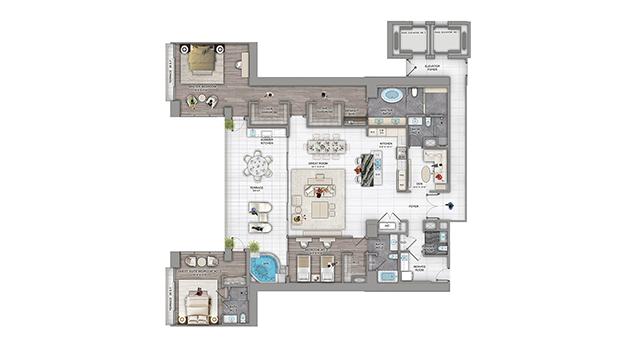 Floor Plans The Estates At Acqualina